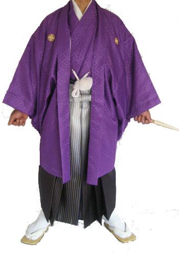 11紫ポリ+白紫金グラデ