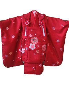 さび赤桜毬