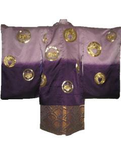 4.紫金紋+金紫波袴
