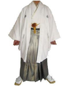 10.白羽織黒虹ぼかし袴