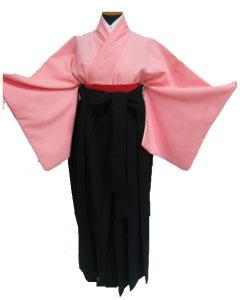 23.ピンク+濃紺袴