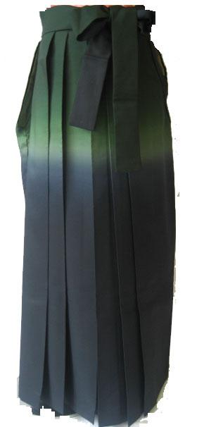 16-2緑撫子+緑紺ぼかし