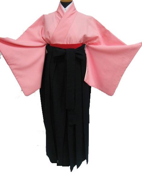 23-1.ピンク+濃紺袴