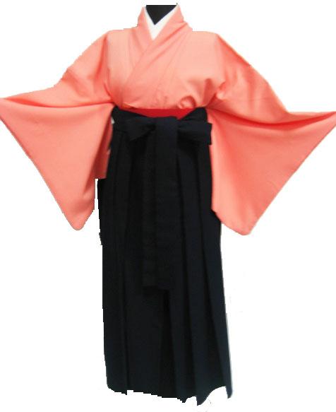 24-1.サーモンピンク+濃紺袴