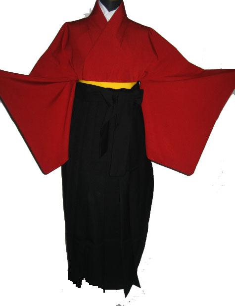 25-1.赤+黒袴