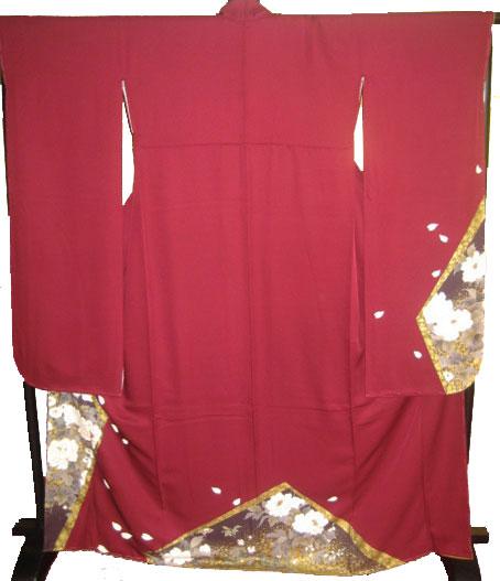 紅金縁牡丹5