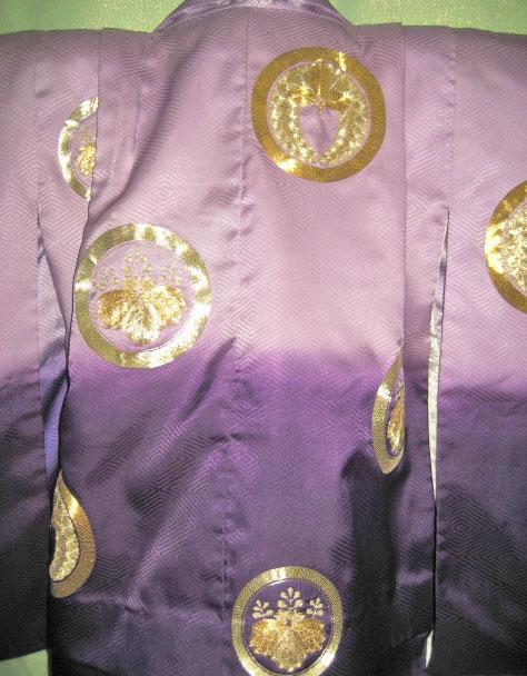 紫金紋+金紫波袴