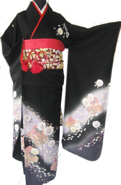 5 .黒霞舞桜