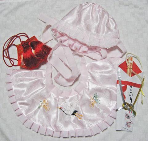 女児宮参り初着貸衣装小物レンタル