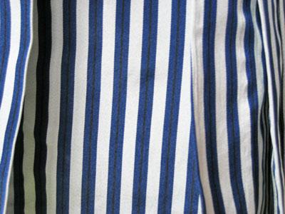 紺パンダ+紺縞袴